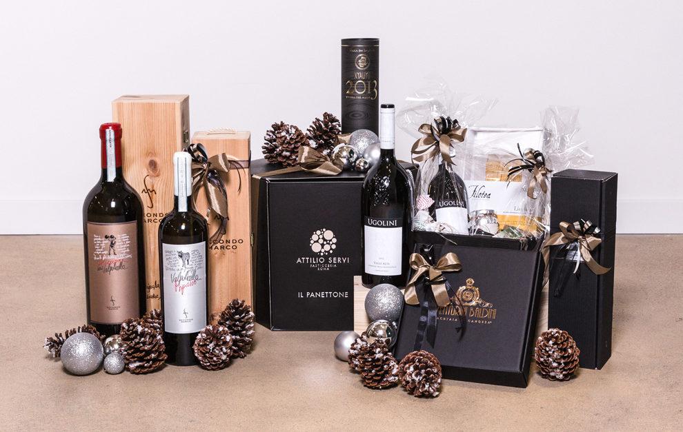 Geschenkideen mit italienischen Spezialitäten zu Weihnachten